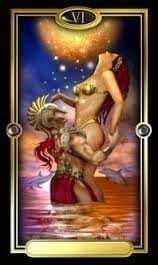 Lovers in tarot sex